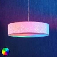 Lindby Smart LED pendant lamp Alwine  spots  round