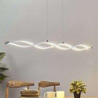 Roan LED linear pendant light  wave shaped