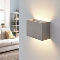 Samo LED wall lamp  satin nickel
