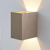 Jorden LED wall lamp  satin nickel