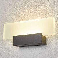 Impressive LED outdoor wall light Rieke