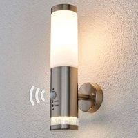 Outdoor wall light Binka with sensor