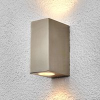 Square outdoor wall light Haven  stainless steel