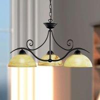 Lacchino atmospheric hanging light  three bulbs