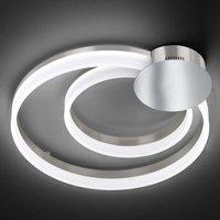 Soul   LED ceiling light in a nice shape