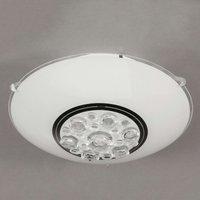 Noa LED ceiling light in white