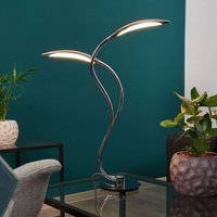 Curved Hampton LED table lamp