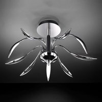 9 bulb Hampton LED ceiling light   dimmable