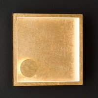 Letizia LED wall light  gold
