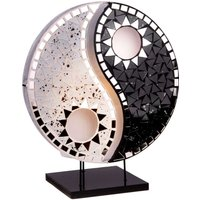 Beautiful design table lamp Ying Yang black white