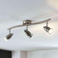 LED ceiling spotlight Benina  three bulb  linear