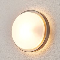 Fero Round Outdoor Wall Lamp  Stainless Steel