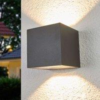 Merjem bright LED outdoor wall lamp