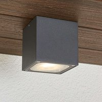 Tanea outdoor cubic LED outdoor ceiling lamp  IP54