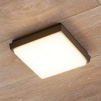 Amra square LED outdoor ceiling light
