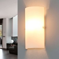Semicircular glass wall light Sidra