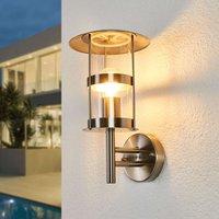 Noemi stainless steel outdoor wall light