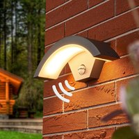 Sensor LED outdoor wall lamp Jule