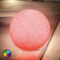 Mega Stone 50   modern spherical LED solar lamp