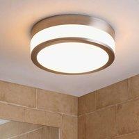 LED bathroom ceiling lamp Flavi  matt nickel