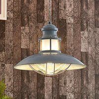 Pendant lamp Louisanne  grey  industrial style