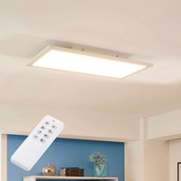 Lysander white LED panel dimmable w remote control