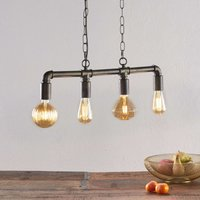 LED pendant lamp Leonas in the industrial style