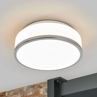 Flush   discreet IP44 ceiling light