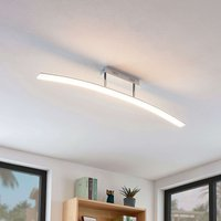 Curved LED ceiling light Lorian