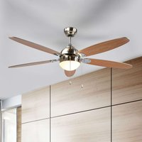 Ceiling fan Levian with light
