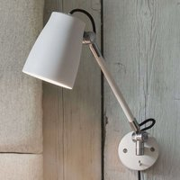 Atelier Grande   flexible wall light with a plug