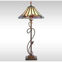 Elaborately designed Tori floor lamp