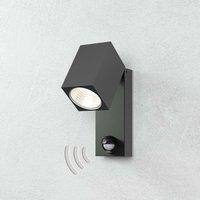 Cala   LED outdoor spotlight with motion sensor