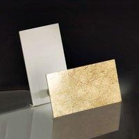 Stylish LED table lamp Time  gold