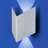 B Leuchten Prince wall light IP54  folded look