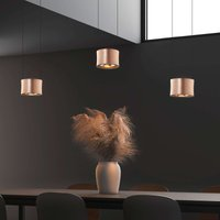 BANKAMP Impulse LED hanging light 3 bulb