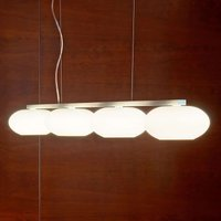 Aih   beam pendant light with four glass shades
