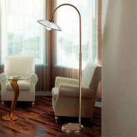 Bassano traditional floor lamp blue