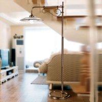 Graceful Bassano floor lamp brown