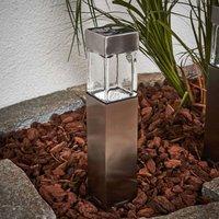 Square Barny LED solar light   4 set