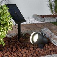 Flexible Soey solar LED spotlight