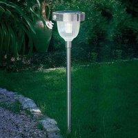 Asinara solar PIR light stainless steel