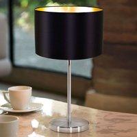 Simple Lecio fabric table lamp