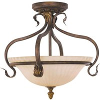 Sonoma Valley semi flush ceiling light