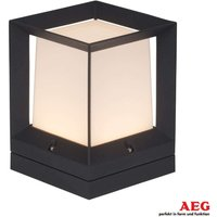Rectangular Kubus LED pillar light