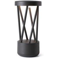 Twist LED pillar light