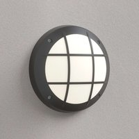 Gelmi GR wall light E27 black opal