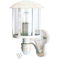 Charming Genefe outdoor wall light in white gold