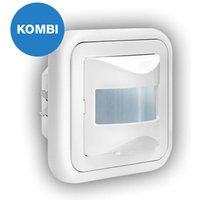 Versatile flush mounted motion detector LBU  160