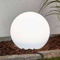 Solar sphere Lago with LED and earth spike